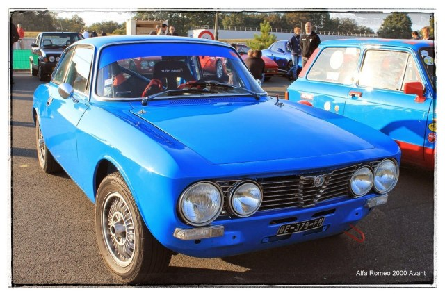 italian meeting - Alfa Romeo 2000