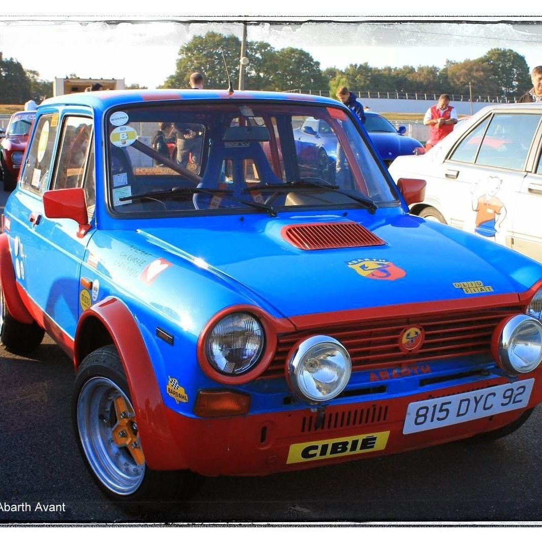italian meeting - Autobianchi A112 Abarth