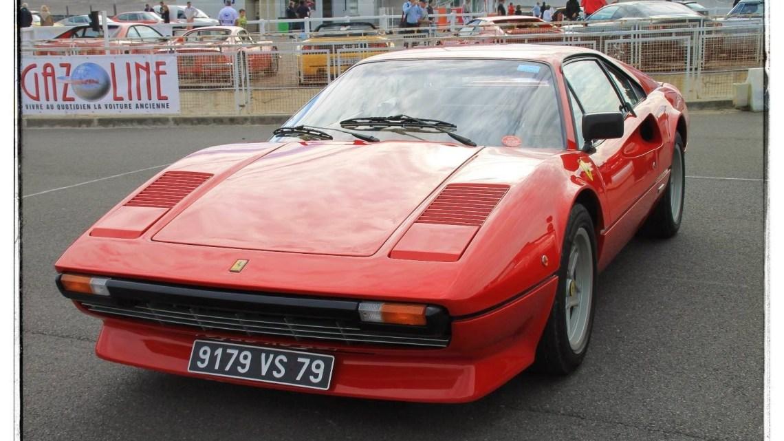 Ferrari 308 GTB/GTS fabriqués par la société italienne de 1975 à 1985