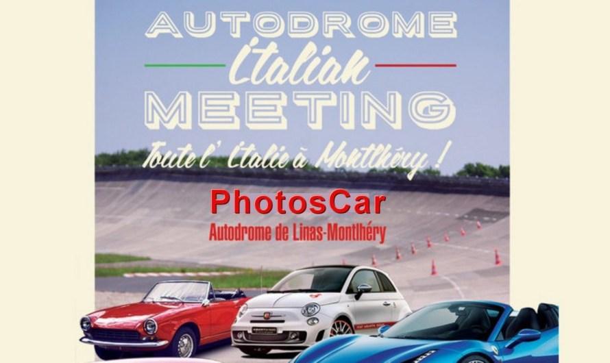 Italian Meeting Montlhéry – Véhicules anciens italiens