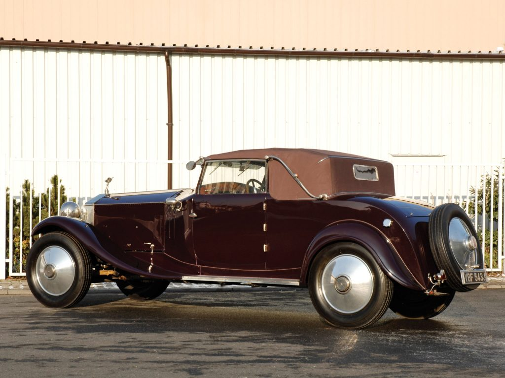 1925 Rolls Royce Phantom 40-50 Cabriolet by Manessius I