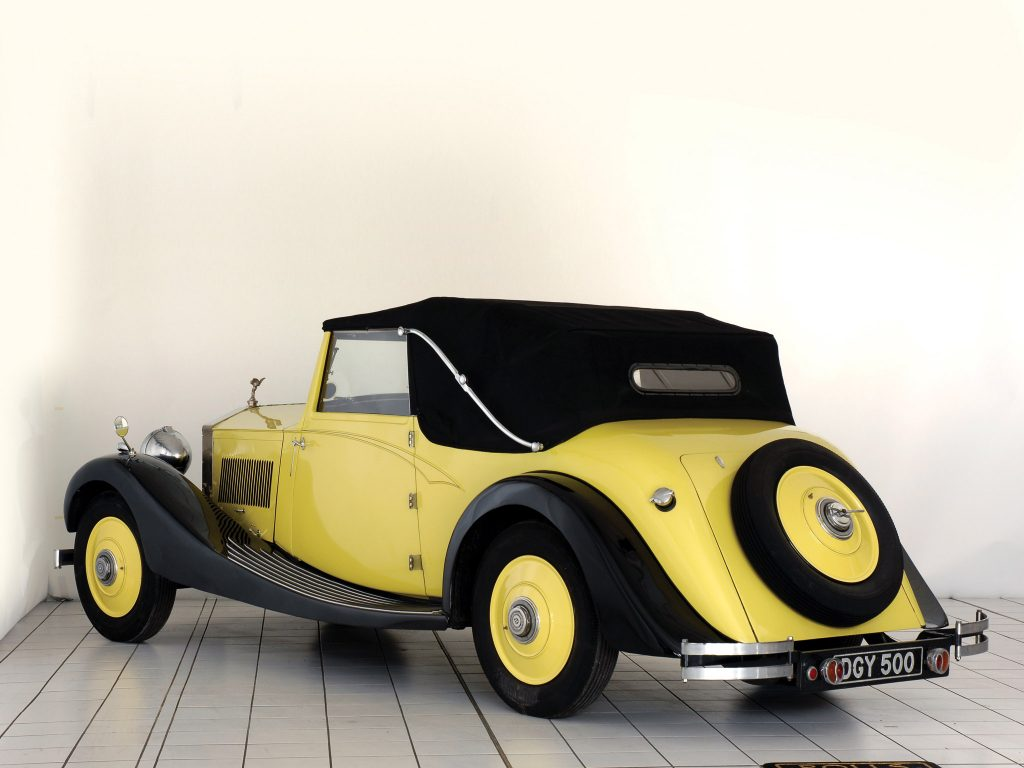 1926 Rolls Royce 20 Drophead Coupe