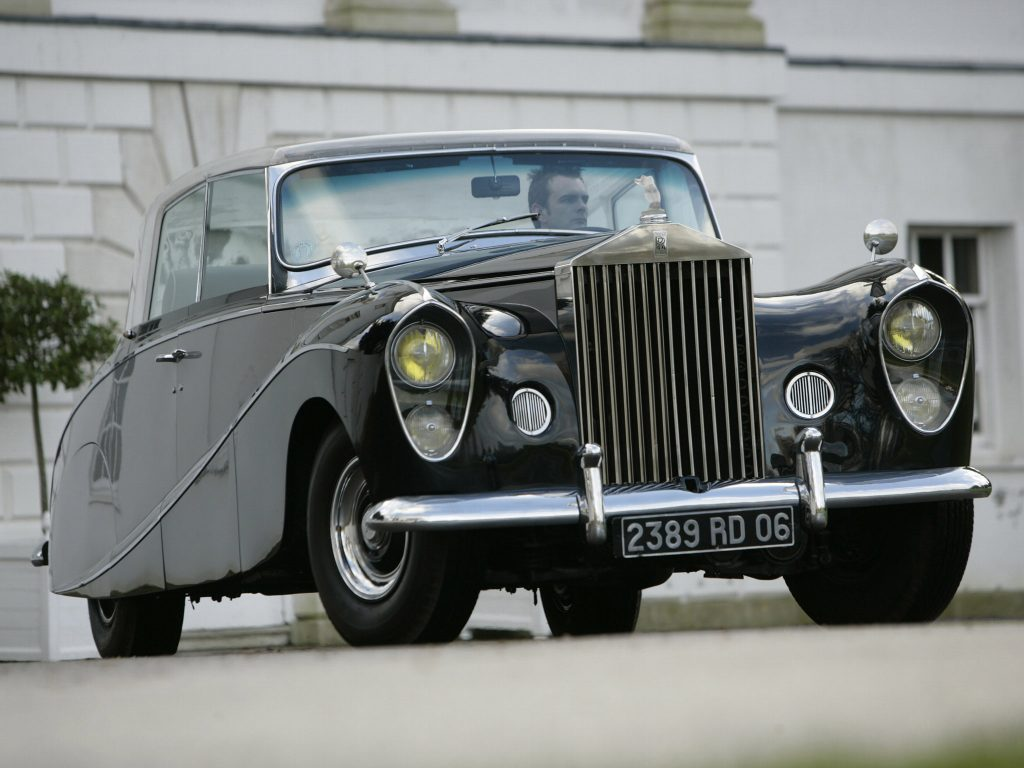 Rolls Royce Wraith Perspex Top Saloon by Hooper 1951 [02]