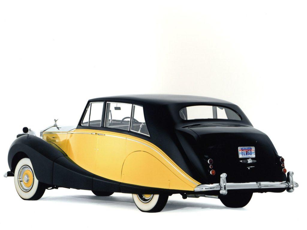 1956 Rolls Royce Silver Wraith Hooper Limousine