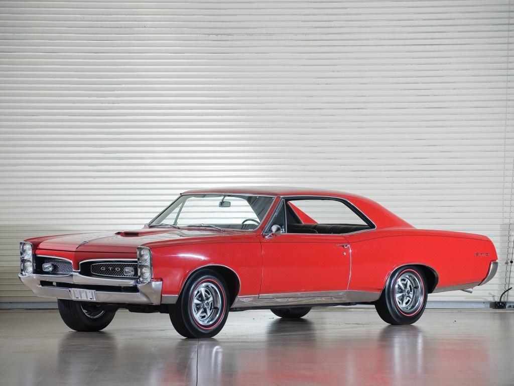 1967 Pontiac GTO Coupe Hardtop