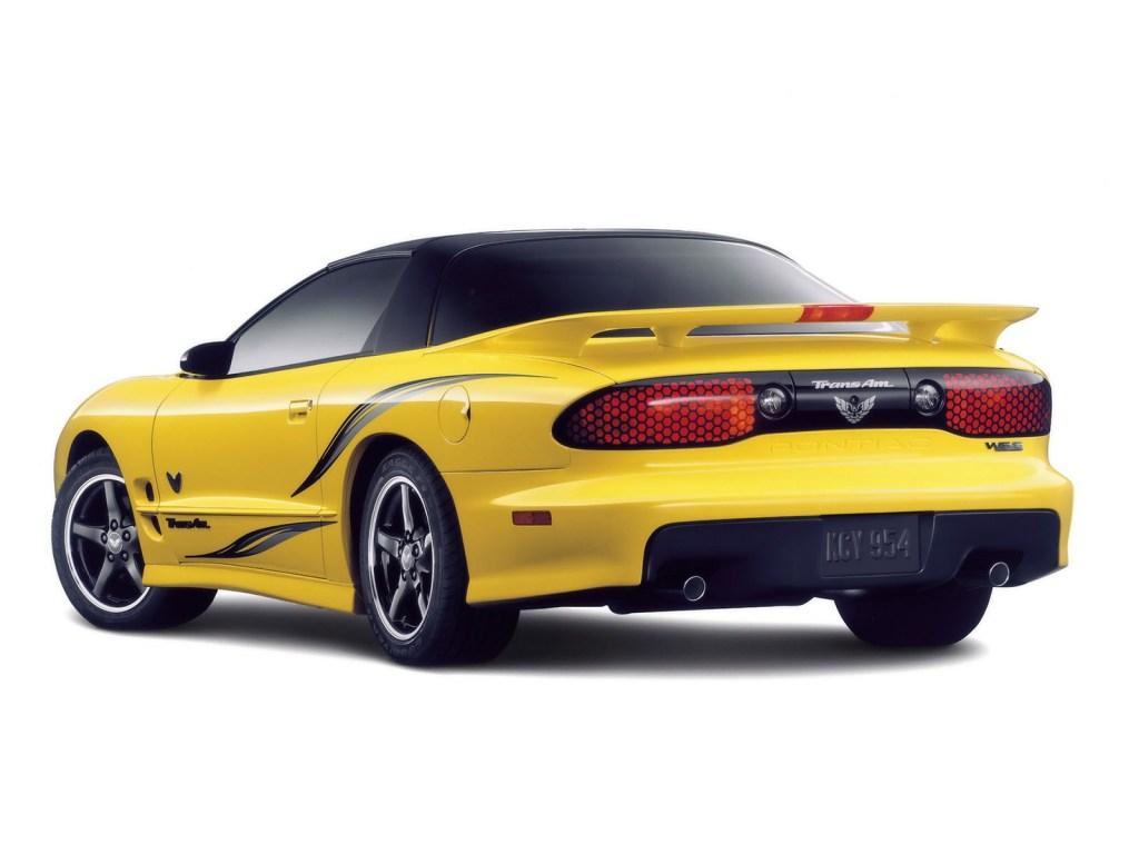 2002 Pontiac Firebird Trans-Am Collector Edition