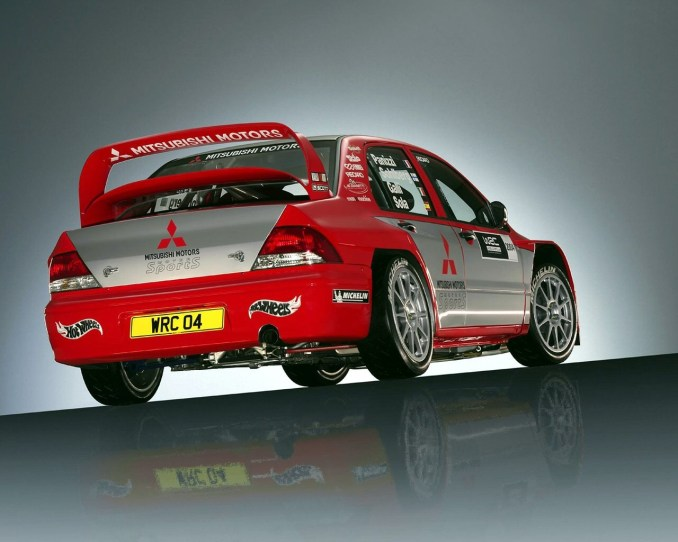2004 Mitsubishi Lancer WRC