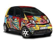 2011 Tata Nano Stop Indians Ahead Concept by Sicis
