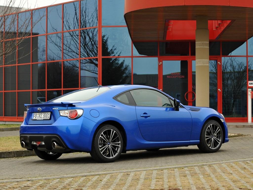 2012 Subaru BRZ Aero Package