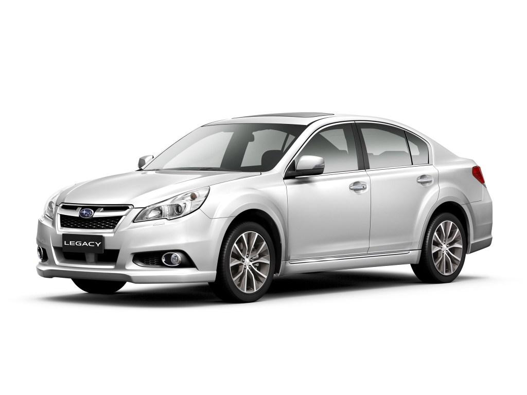 2012 Subaru Legacy China