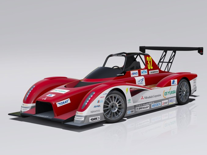 2013 Mitsubishi Miev Evolution II All Electric Race Car Pikes Peak