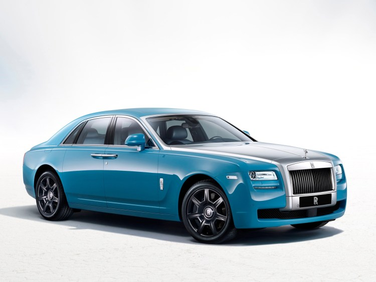2013 Rolls Royce Ghost Alpine Trial Centenary Collection