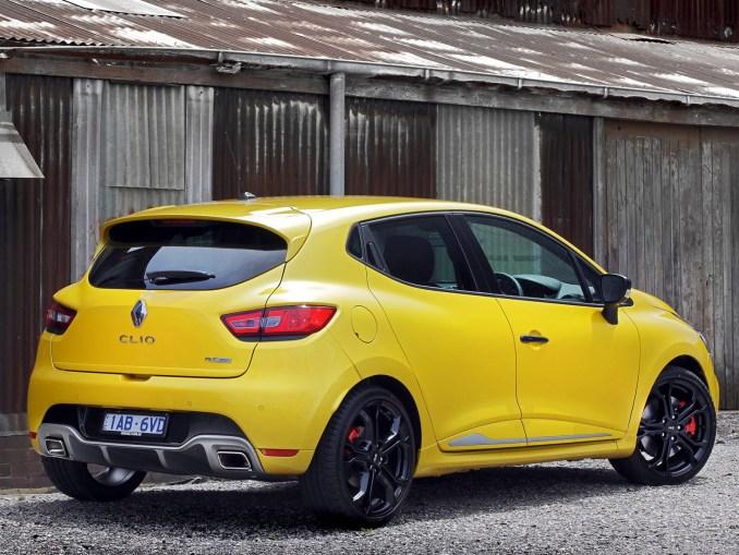 2014 Renault Clio RS200 Australia