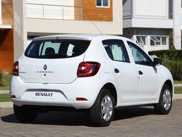 2014 Renault Sandero Authentique Brazil