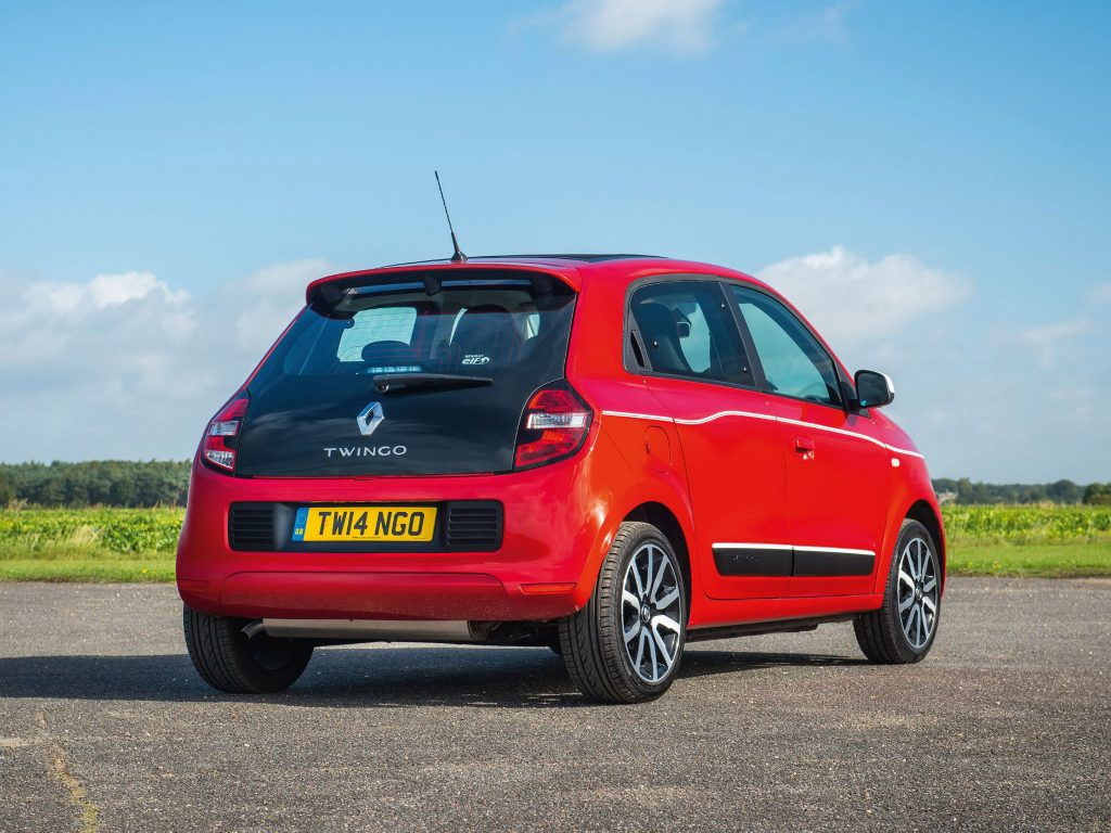 2014 Renault Twingo Soft Top UK