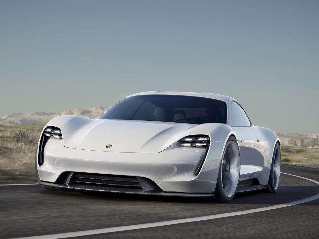 2015 Porsche Mission E Concept