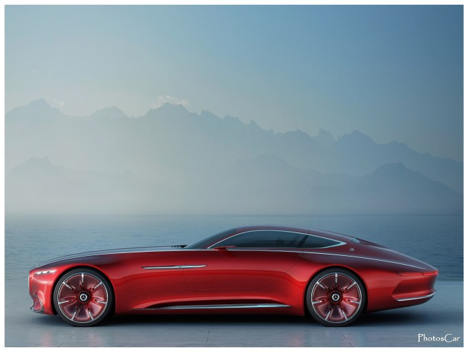 2016 Maybach Vision Mercedes Maybach 6