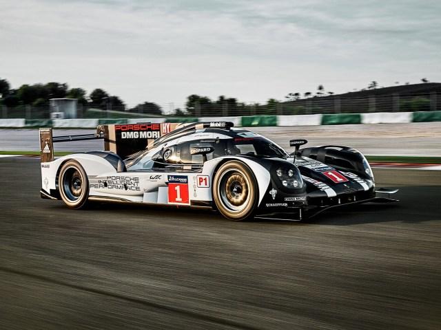 2016 Porsche 919 Hybrid WEC Race Car