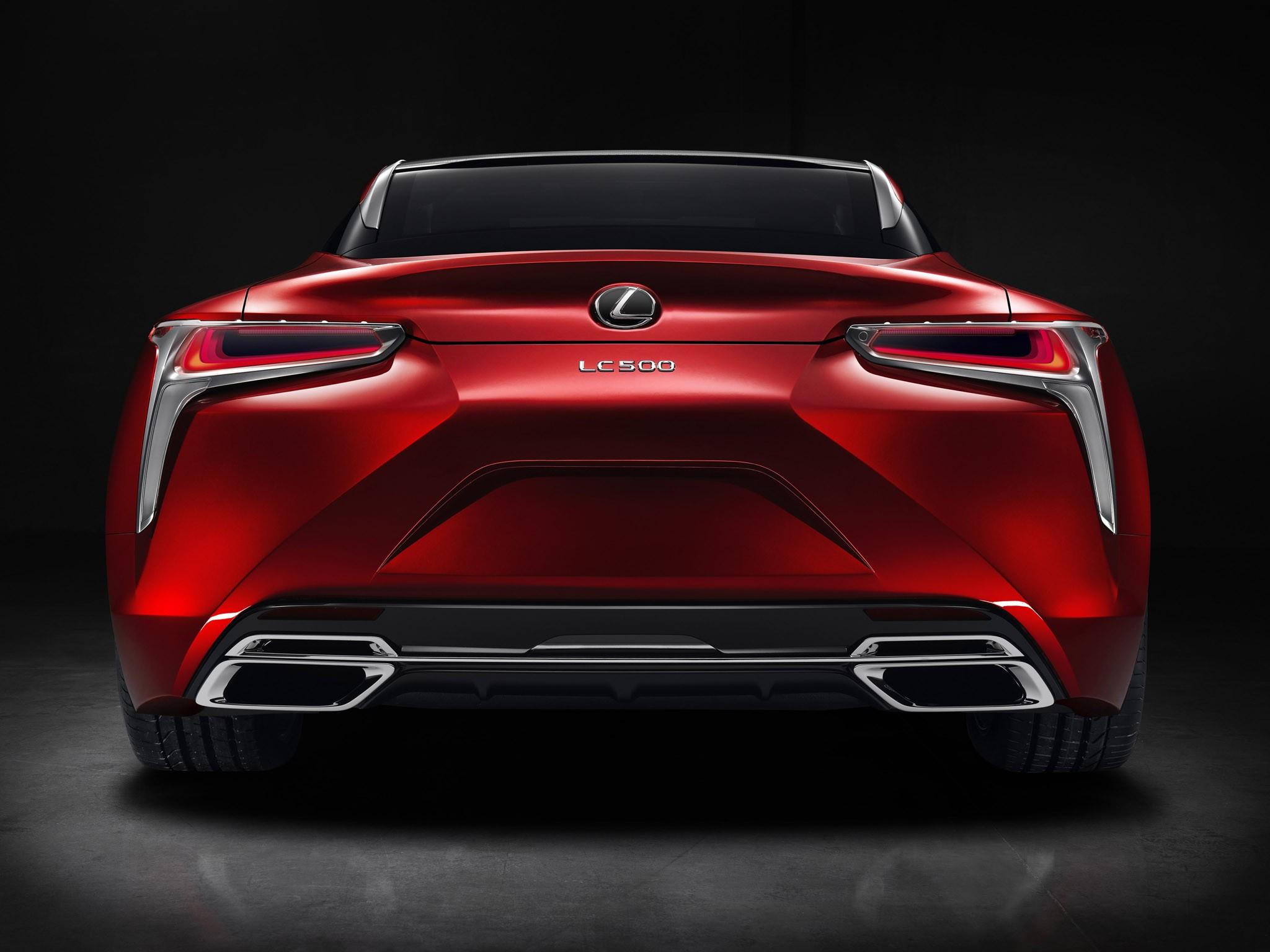 2016 Lexus LC 500