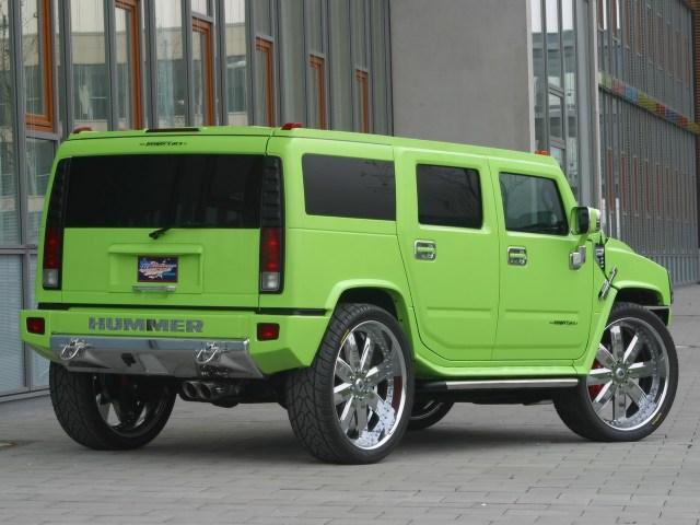 2005 Geigercars - Hummer H2 Maximum Green Kompressor