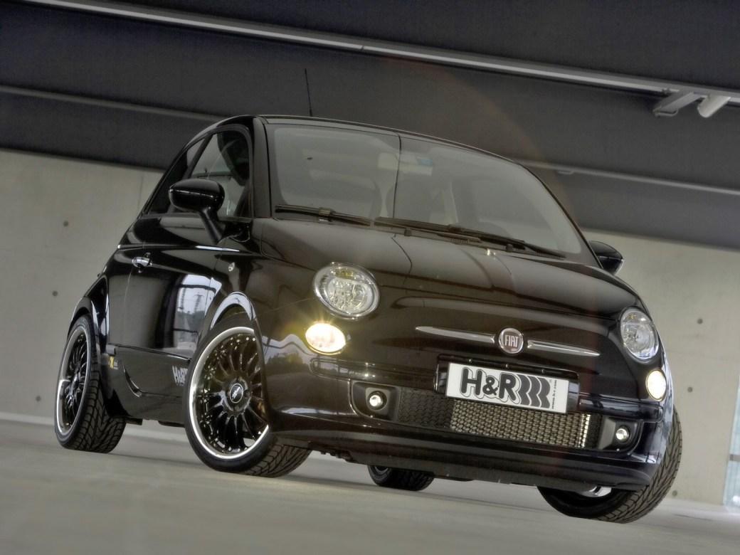 2008 H&R - Fiat 500