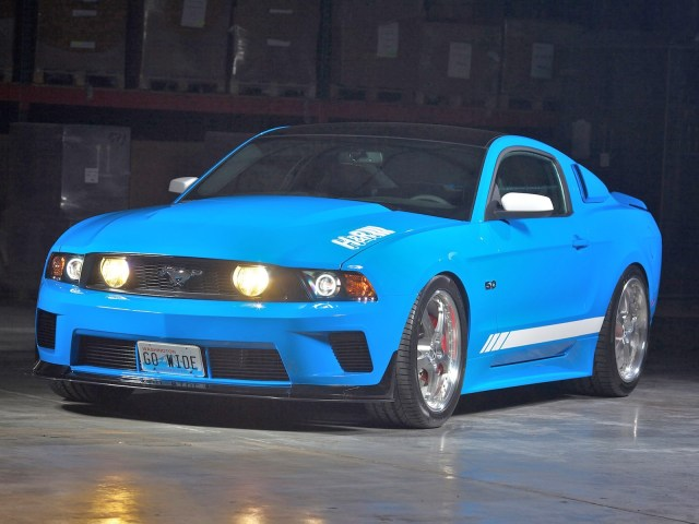 2011 H&R - Ford Mustang GT 5.0 Project Legend