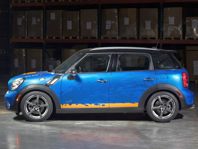2011 H&R - Mini Countryman all4