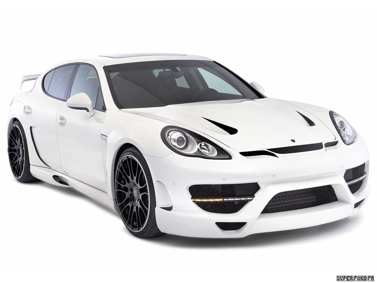 2011 Hamann - Porsche Panamera Widebody kit 970