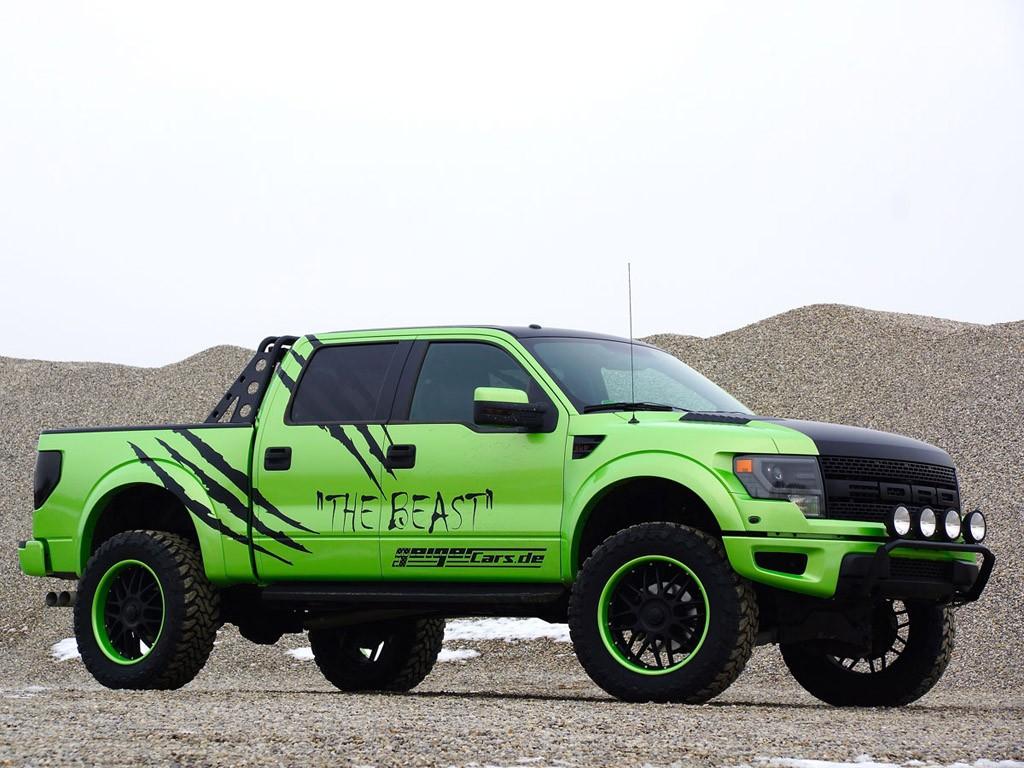 2014 Geigercars - Ford F150 SVT Raptor Super Crew Cab Beast Edition