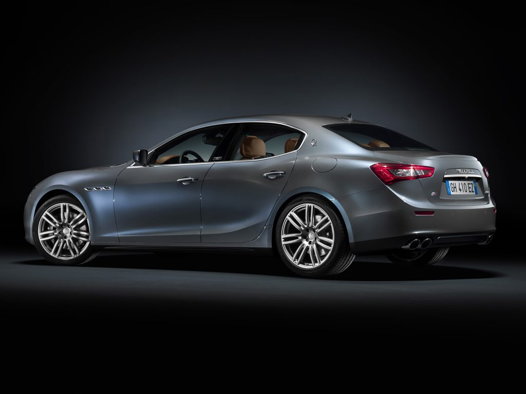 2014 Maserati Ghibli Ermenegildo Zegna Concept