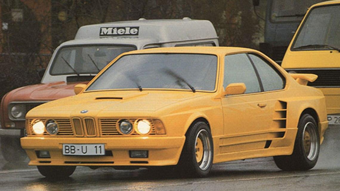 Gemballa M635 CSI… La BMW dans les années 80