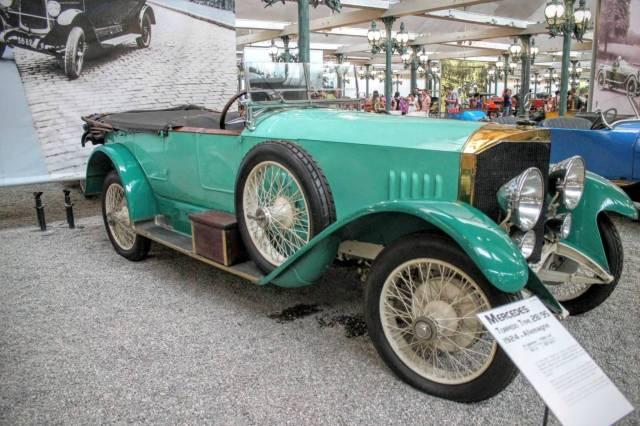 1924 Mercedes Torpedo Type 28 95