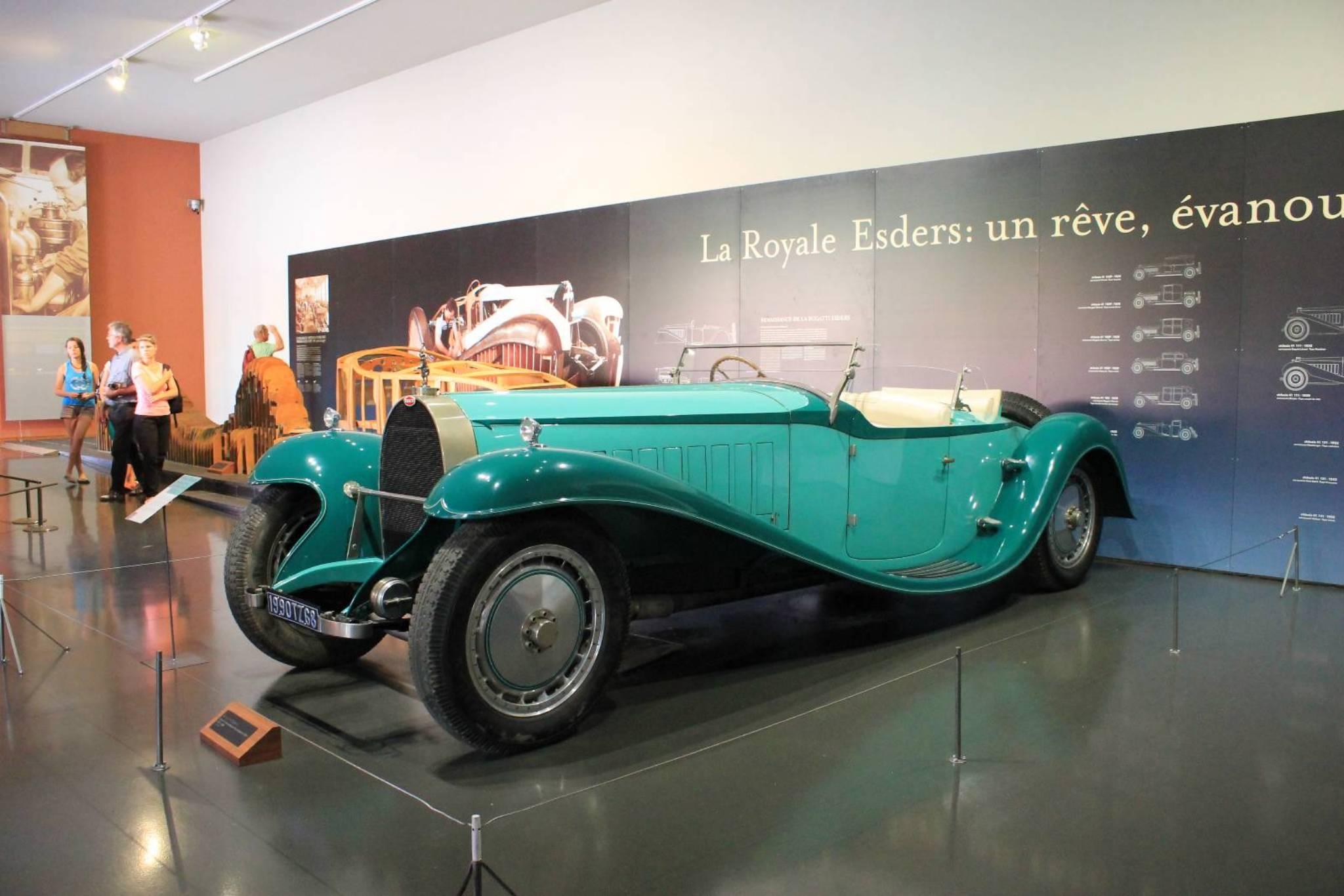 1927 Bugatti Royale Esders Cabriolet