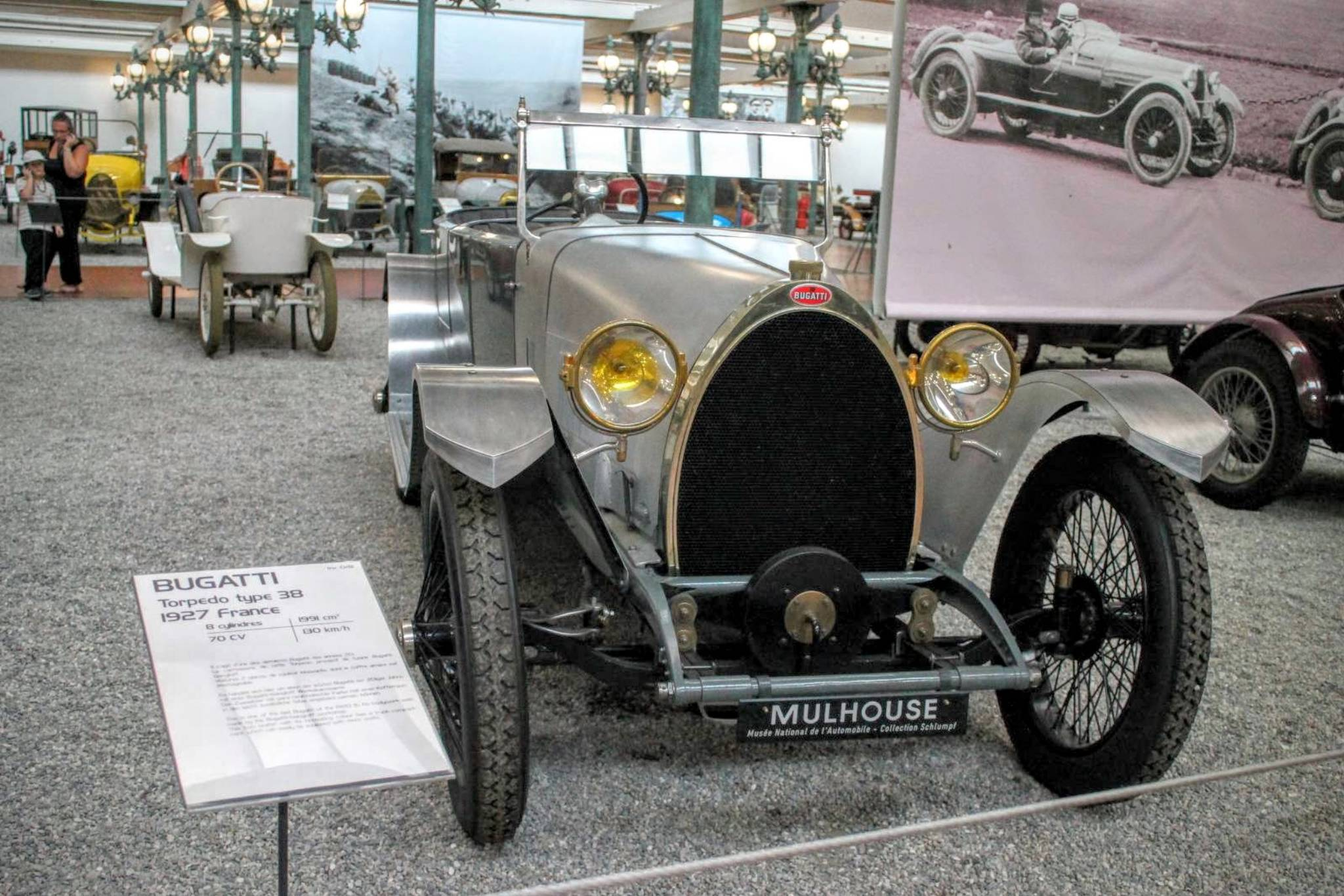 1927 Bugatti Torpedo Type 38