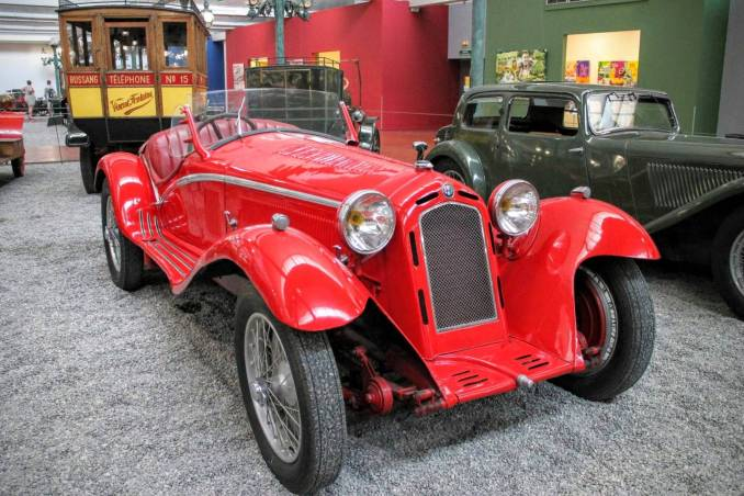 Alfa Romeo 8C 2300 2,6 litres Monza Spider Corsa