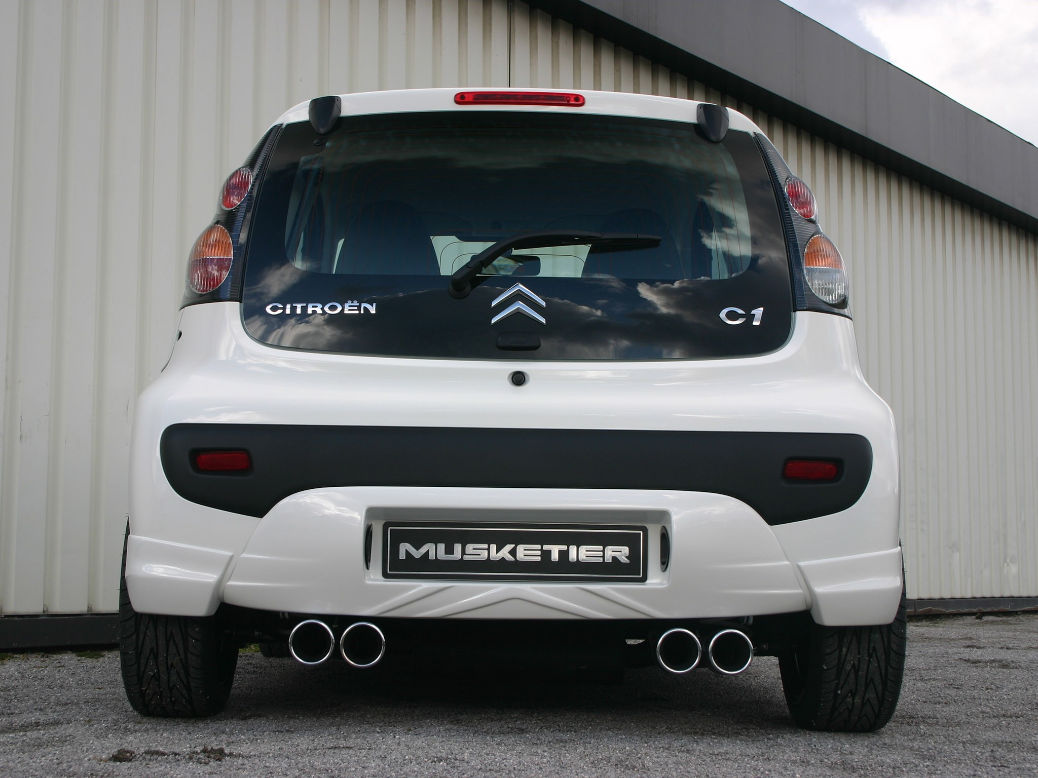 2009 Musketier Citroen C1