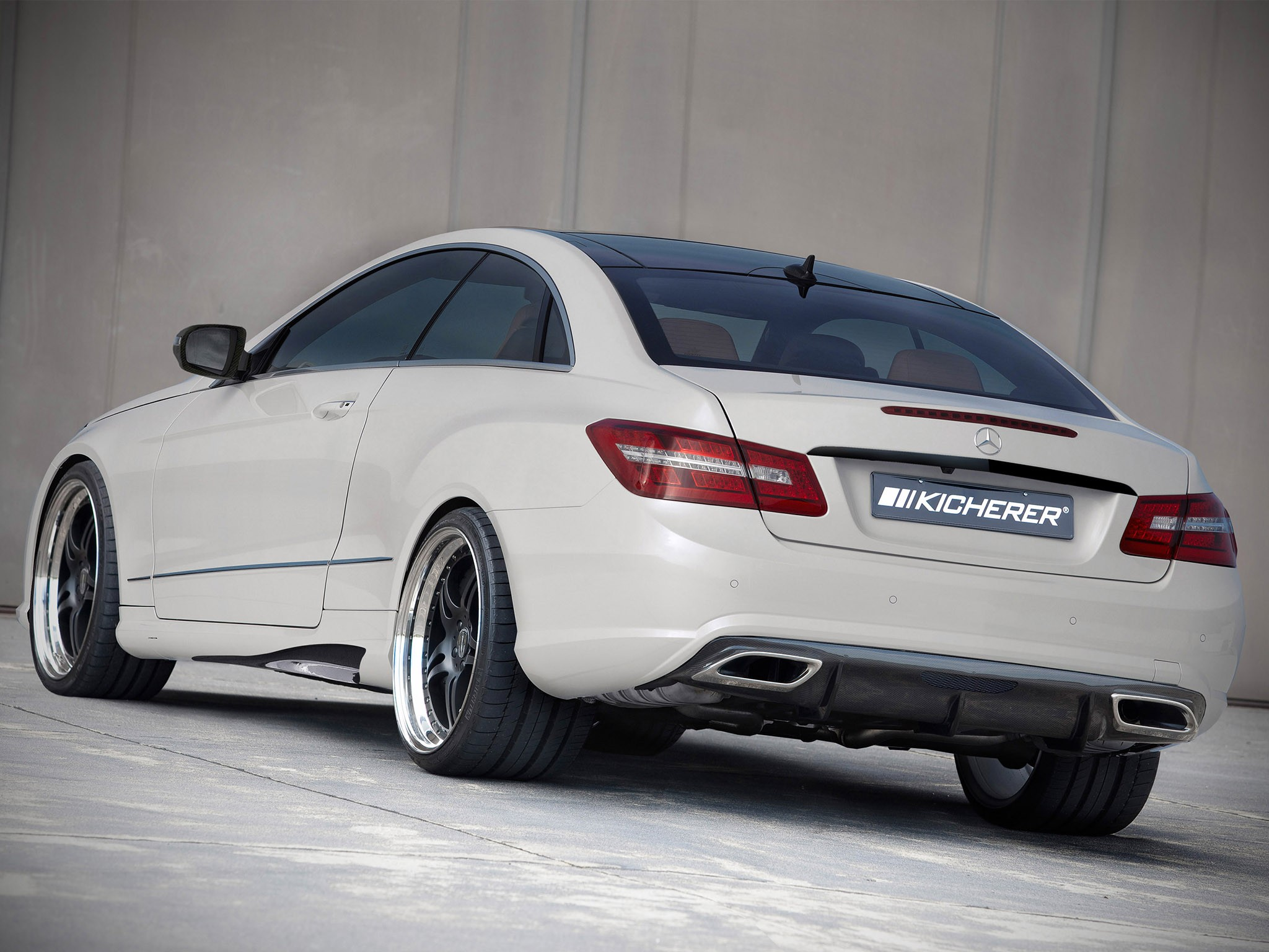 2010 Kicherer Mercedes E Klasse E50 Coupe