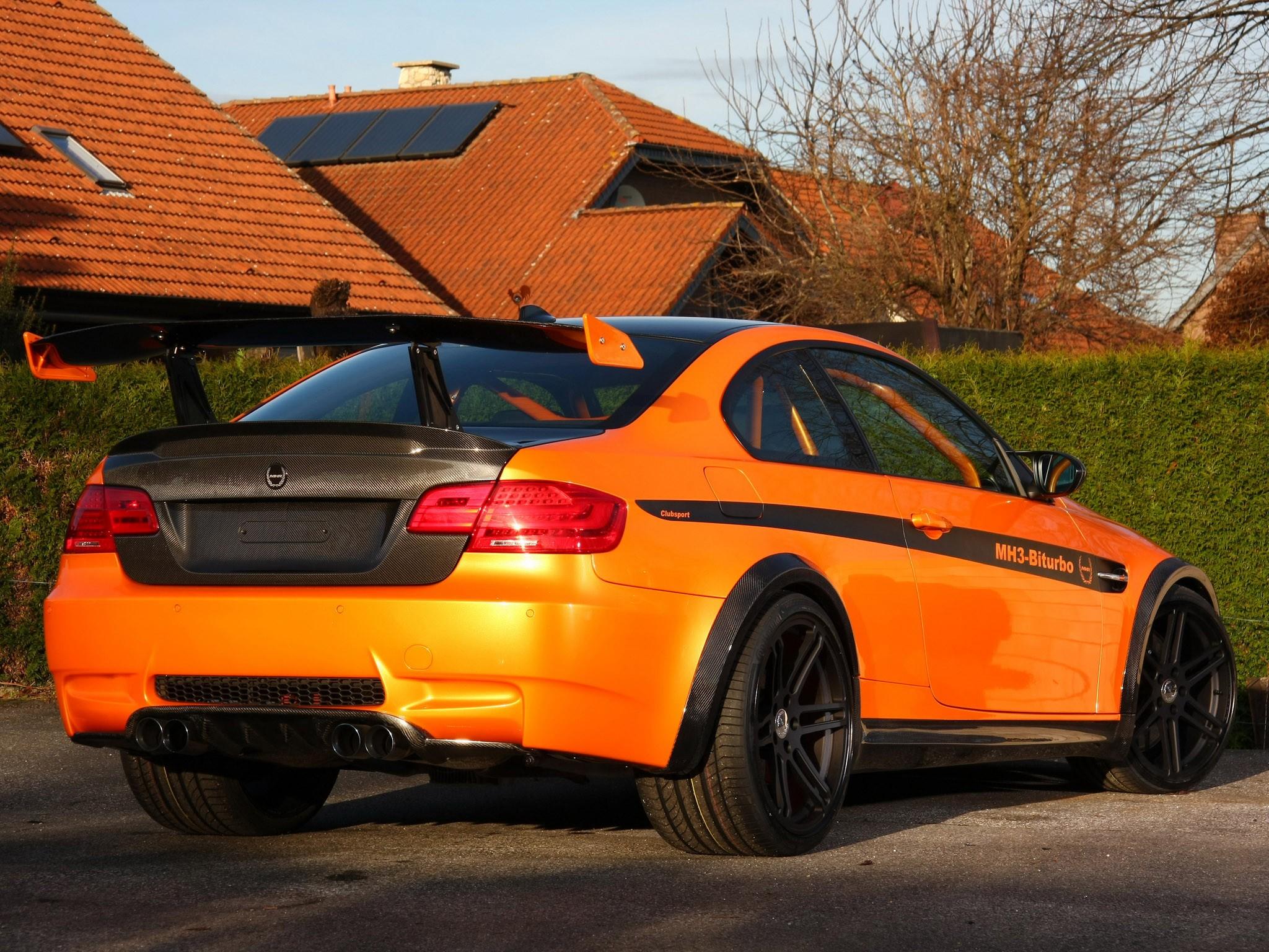 2011 Manhart - Bmw MH3 V8 RS Clubsport E92