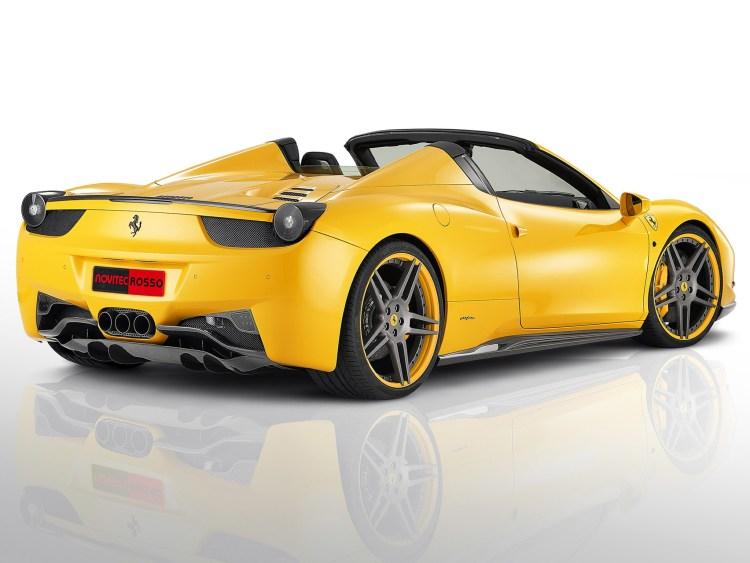 2012 Novitec Ferrari 458 Spider