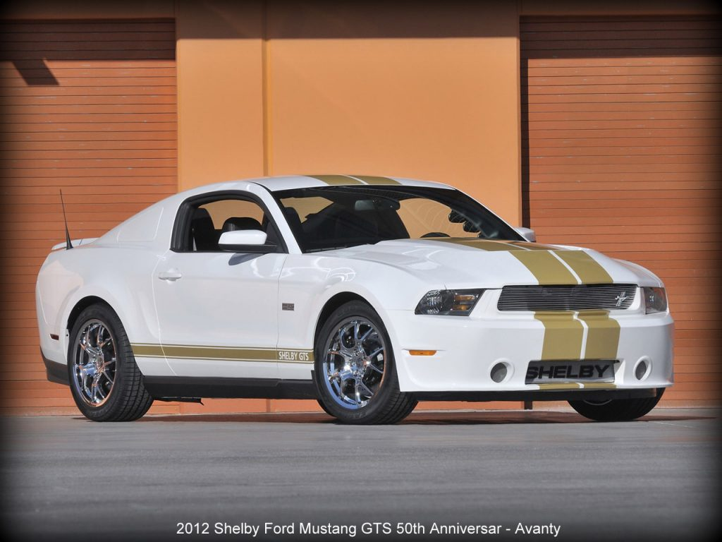 2012 Shelby Ford Mustang GTS 50th Anniversary