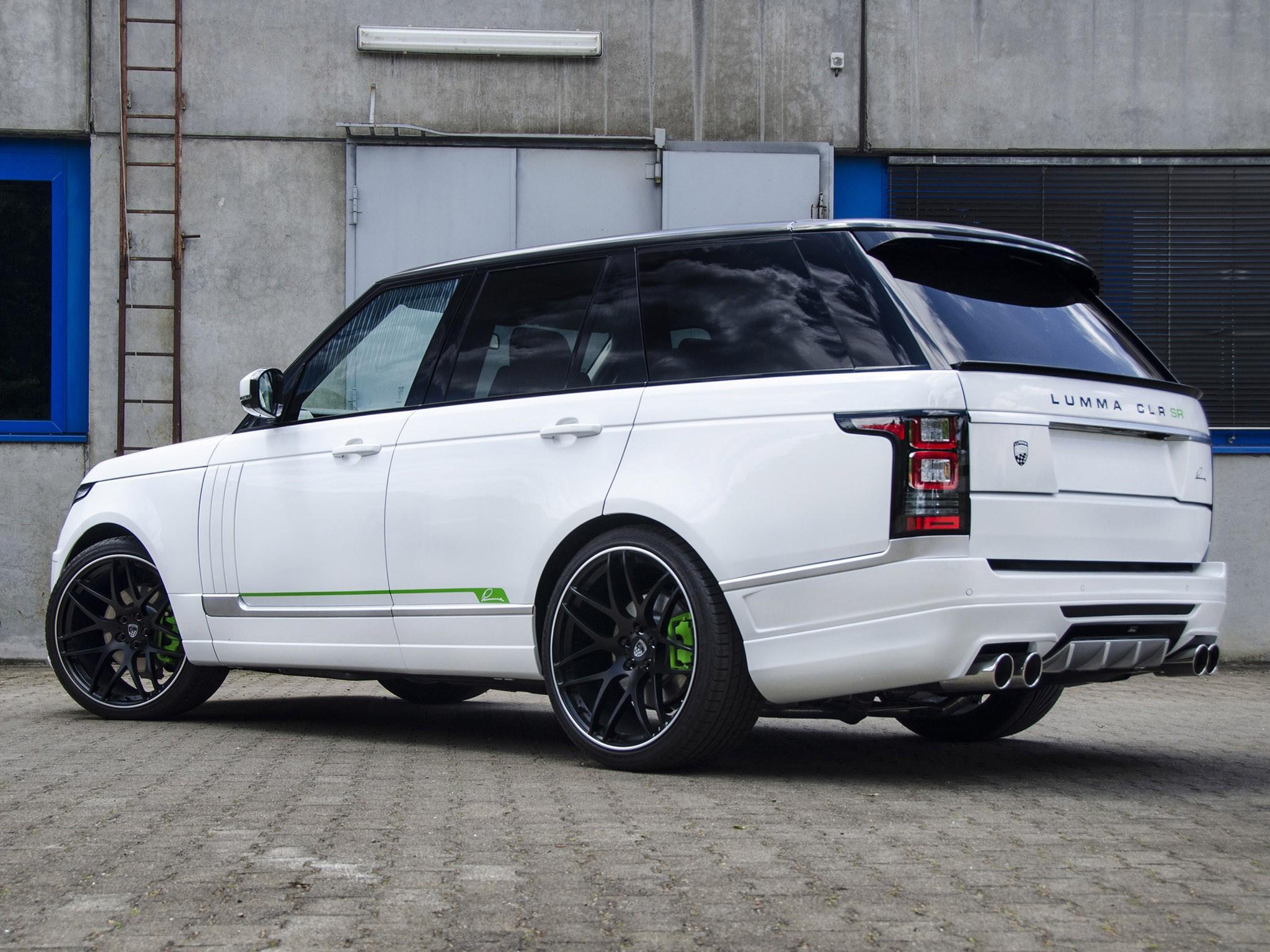 2014 Lumma Design - Range Rover Vogue CLR SR