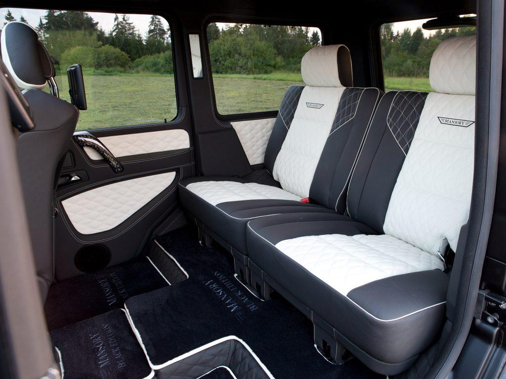 2015 Mansory - Mercedes G Gronos Black Edition W463