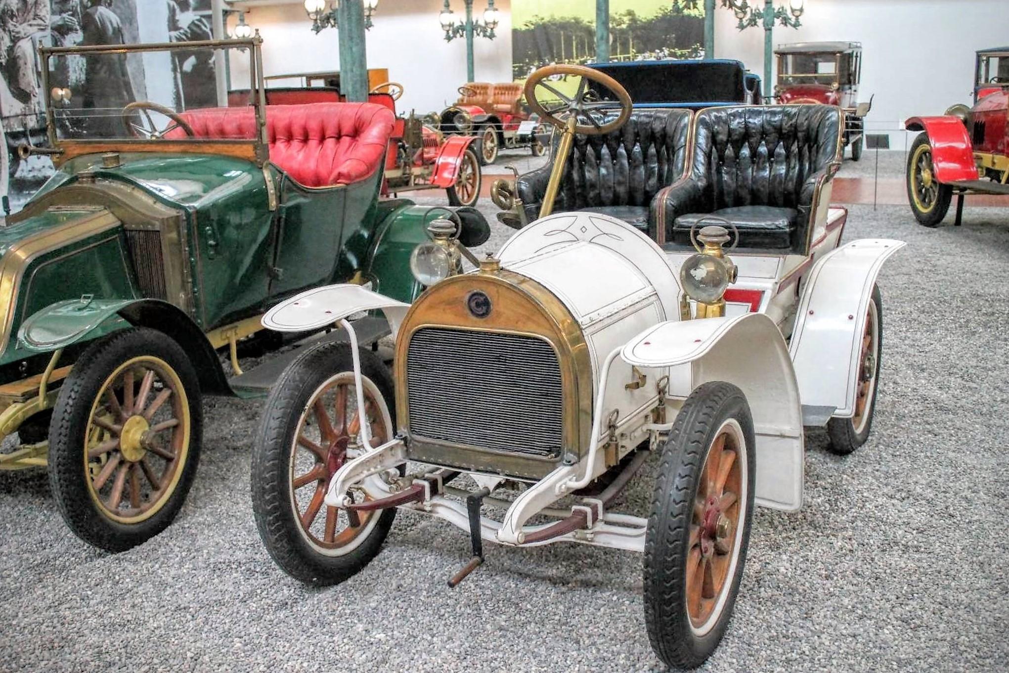 Grégoire type 6/8 HP phaétonnet de 1910
