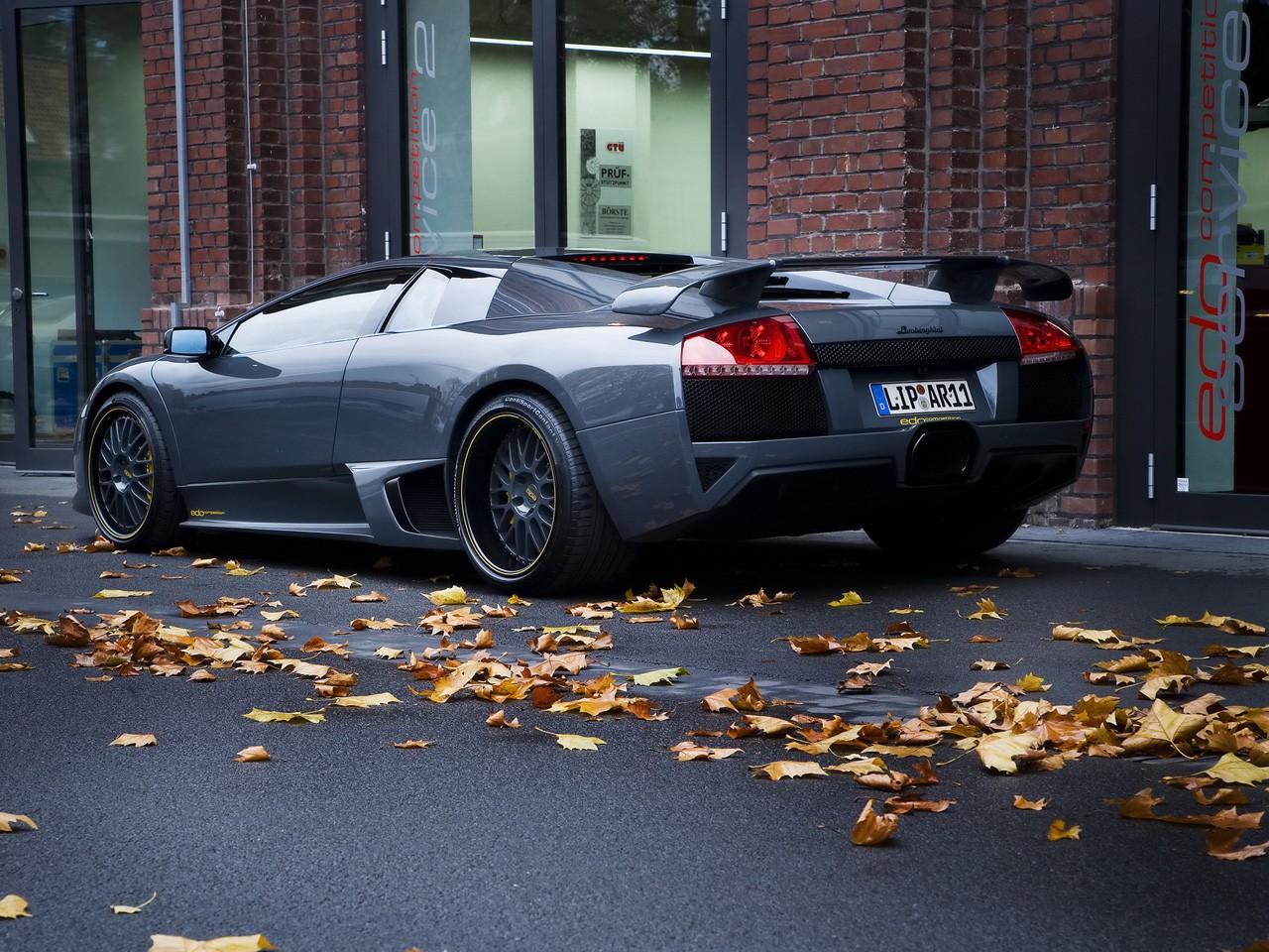 2008 Edo Competition Lamborghini Murcielago lp640 Versione Nardo Driver
