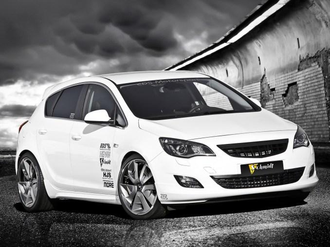 Opel Astra OPC EDS (2011) - Schmidt Revolution