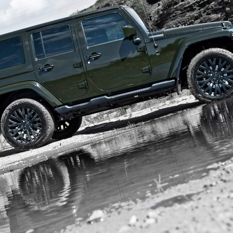 2012 Project Kahn Jeep CJ 300 Expedition