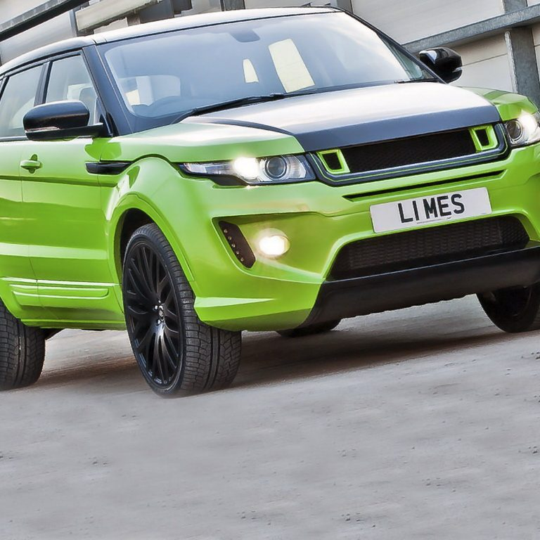 2012 Project Kahn Range Rover Evoque RS250