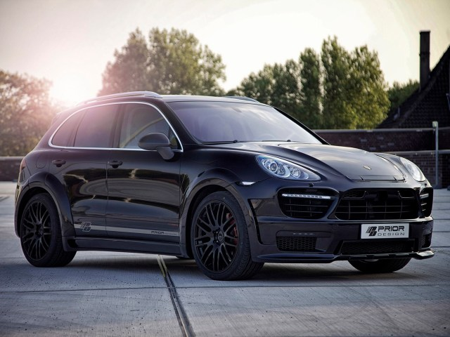 2013 Prior Design - Porsche Cayenne ii Widebody Kit