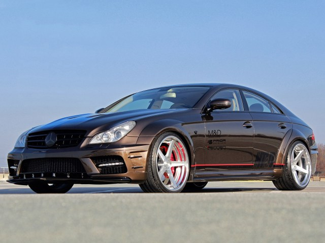 2014 Prior Design - Mercedes CLS Black Edition Widebody W219