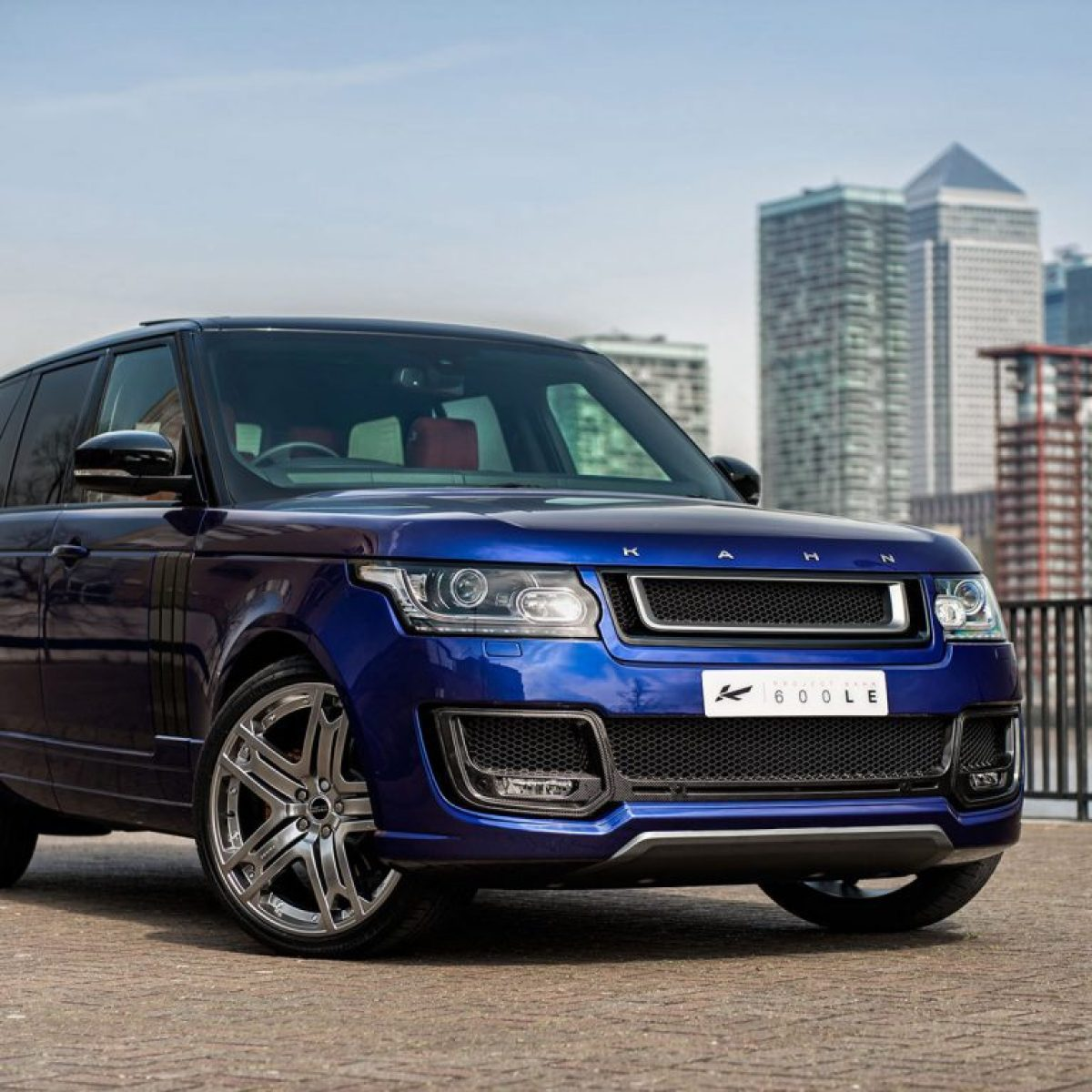 2014 Project Kahn Range Rover 600 Le Bali Blue Luxury Edition